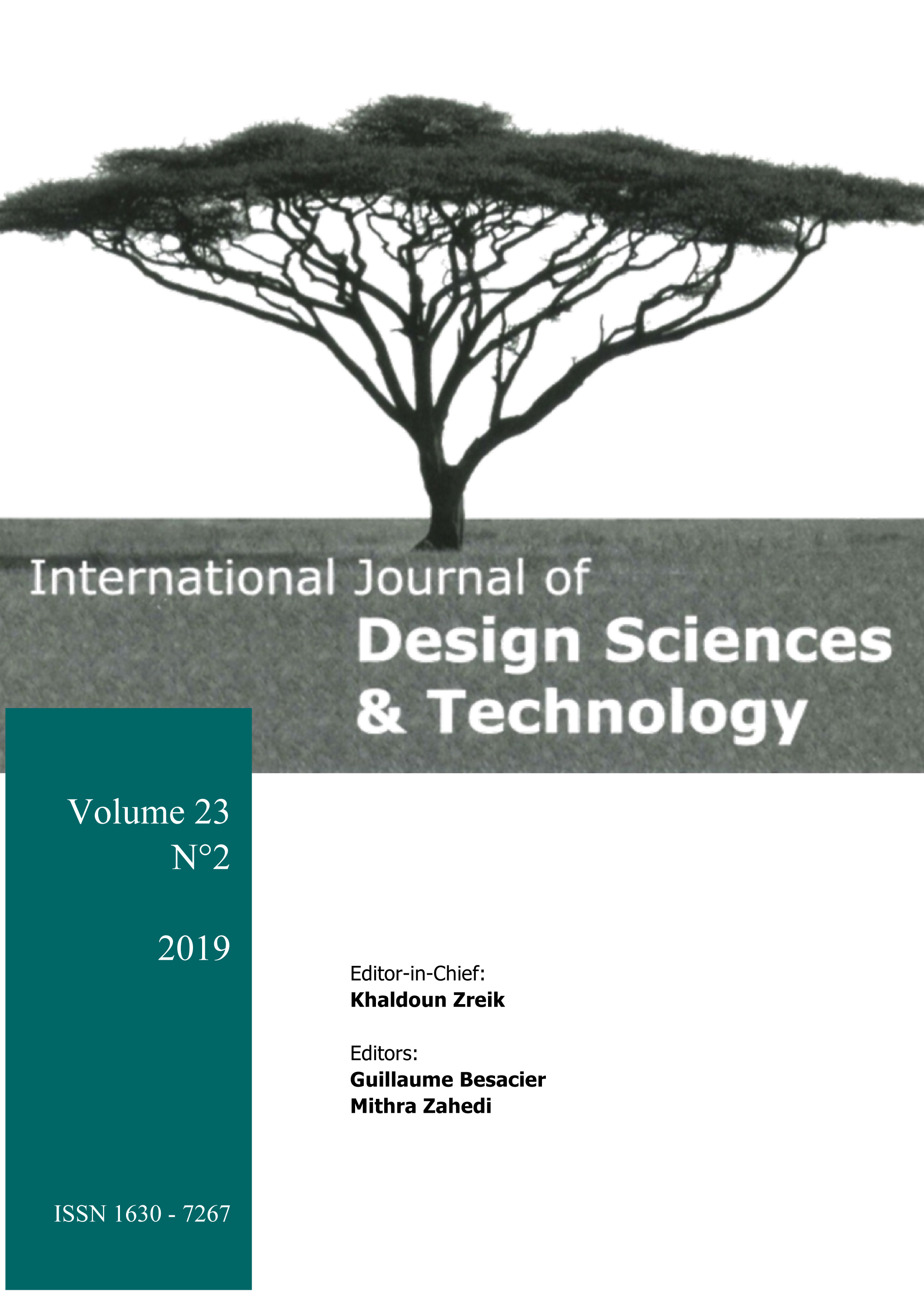 International Journal of Design Sciences & Technology